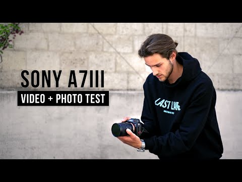 I bought the SONY A7III in 2021 - VIDEO & PHOTO TEST - is it worth the upgrade??