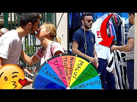 BACIO & MAGLIA DELLA JUVE A NAPOLI!!! RUOTA DELLE PENITENZE CON FRANCIA 4-3 ARGENTINA #3ACTION
