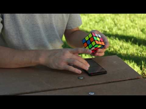 Quantum Cube - The World's First Cloud-Based Cube Timer