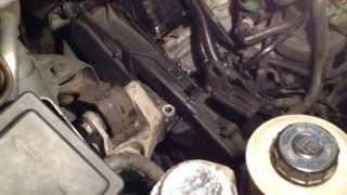 Citroen C8 : Démonter le support moteur
