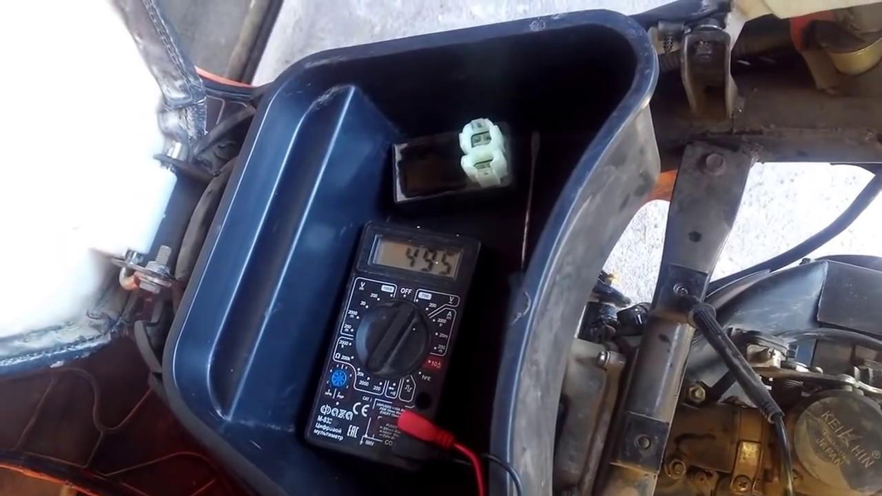 как проверить генератор  скутера., система зажигания CDI