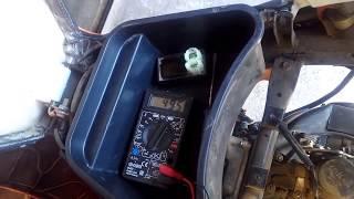 как проверить генератор  скутера., система зажигания CDI(, 2016-06-21T20:41:45.000Z)