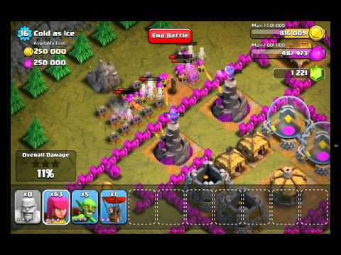 Clash Of Clans Level 44 - Cold As Ice