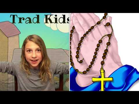 All About the Rosary for Kids - Why pray it? Where did it originate from? How do you pray it?