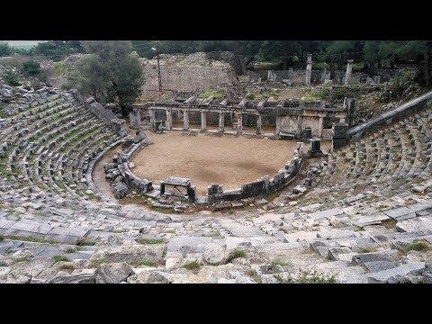 Priene Theatre, Güllübahçe, Söke, Aydın Province, Turkey, Asia