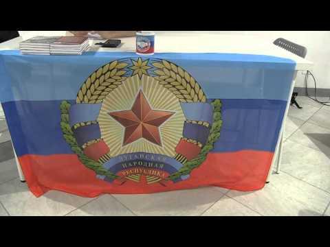 NON UN PASSO INDIETRO cronache dalla Repubblica Popolare di Lugansk
