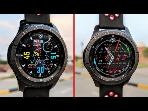 Gear S3 KILLER Watchfaces That You MUST TRY!! | 2018 |