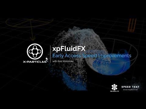 FluidPDB & xpFluidFX - X Particles 4, New Feature Sneak Peek