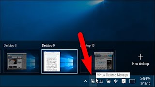 How to Add an Indicator to See What Virtual Desktop You're On in Windows 10