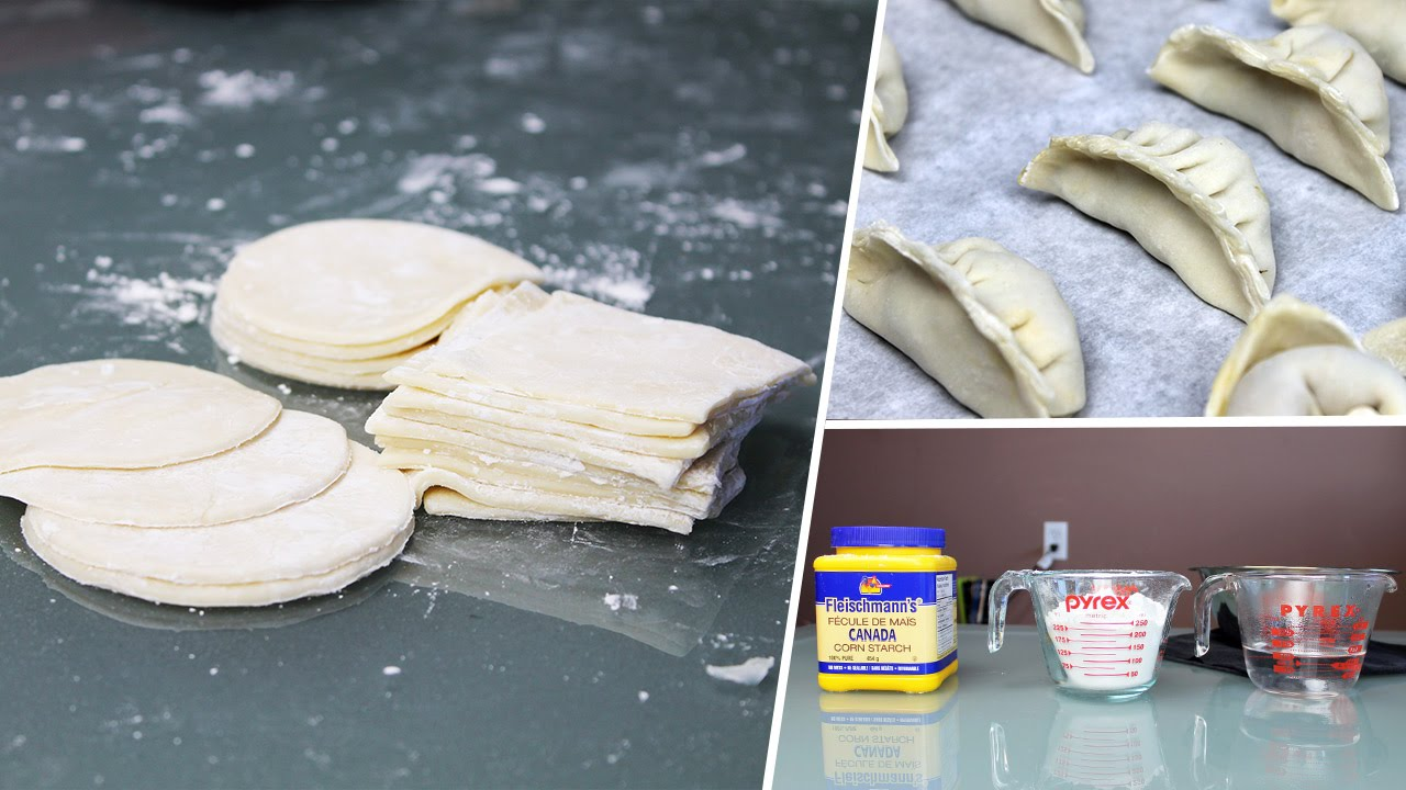 How To Make Dumpling Wrappers   Vegan Recipe