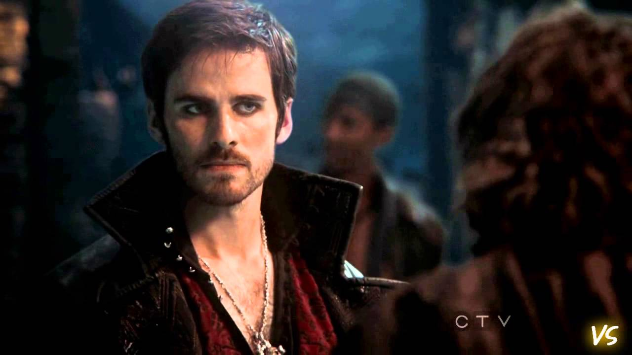 Captain hook in once upon a time actor