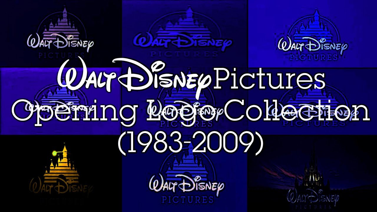 Download Official Walt Disney Pictures Opening Logo Collection (1983-2009)