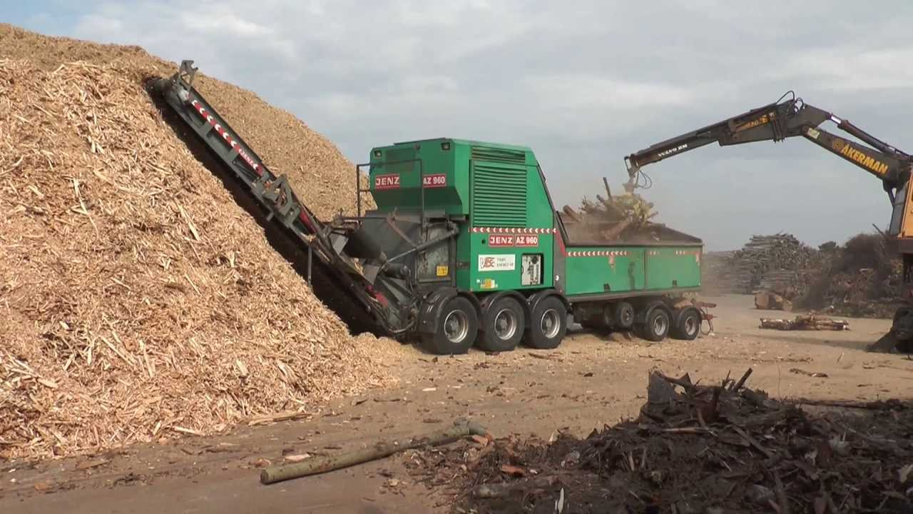 Wood Chipper Shredder Mulcher