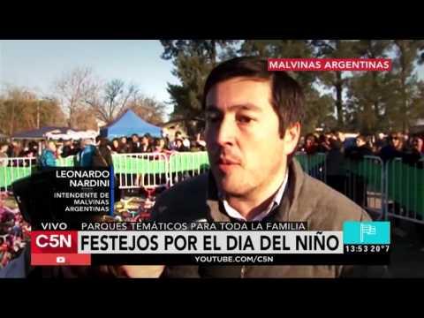 C5N - Sociedad: Festejos por el día del niño en Malvinas Argentinas