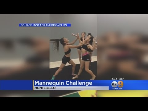 Mannequin Challenge Takes Internet, And CBSLA Newsroom, By Storm