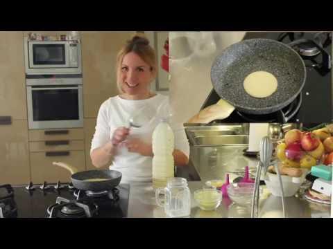 Ricetta Pancake Nella Bottiglia.Pancake In Bottiglia Youtube