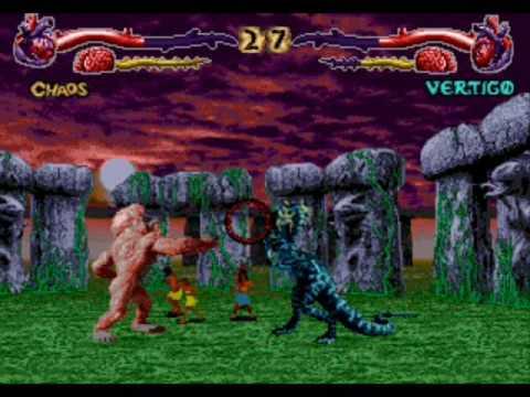 Sega 32X - Primal Rage (1995) - YouTube