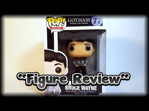 Funko Pop Bruce Wayne review. (Gotham TV series)