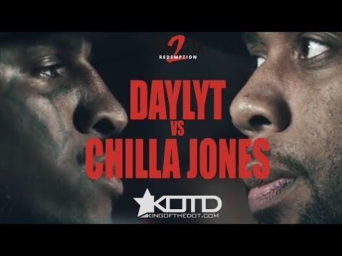 KOTD - Rap Battle - Daylyt vs Chilla Jones | #V2R