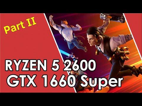 Ryzen 5 2600 + GTX 1660 Super // Test In 25 Games