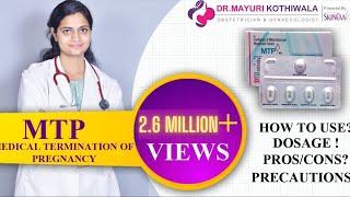 MTP Abortion Kit (एमटीपी एबॉर्शन किट) की जानकारी - Use करने का सही तरीका- Gynecologist in Jaipur