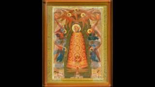Акафист Божией Матери в честь иконы Её