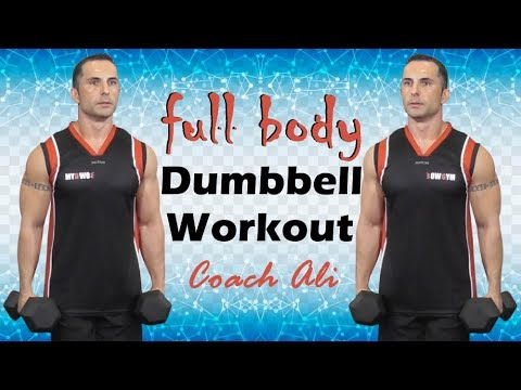 Full Body Workout With Dumbbells - Full Body Dumbbell Workout with Coach Ali