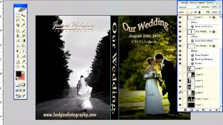 cara membuat cover dvd photoshop CS5
