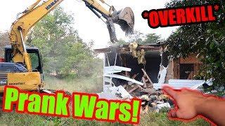 *DESTROYED HOUSE* Prank Wars Overkill!