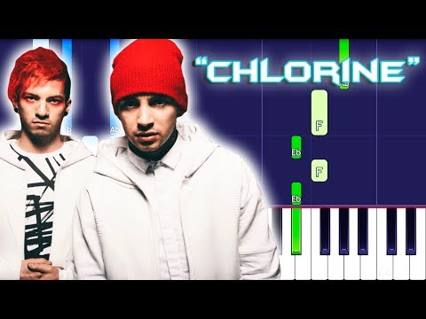 twenty one pilots - Chlorine Piano Tutorial EASY (Piano Cover) Trench