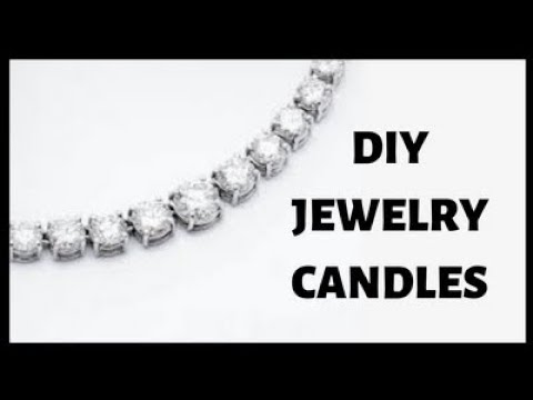 DIY Jewelry Candles - Make Your Own DIY Candle With Jewelry Inside