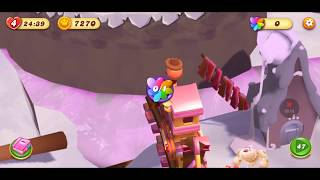 Candy Crush Tales Level 47 ~ FULL STORY ~ Repair the Trestle