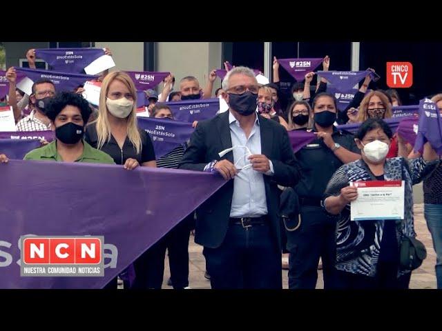 CINCO TV - 25N: Tigre conmemoró el Día Mundial de la Eliminación de la Violencia contra las Mujeres