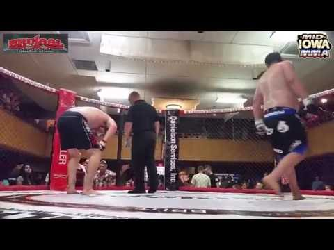 Bryce Eubanks vs Justin Stuart - Brutaal Genesis Iowa MMA Fight