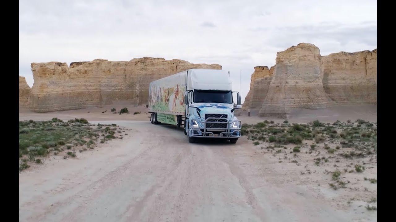 Dla takich widoków Dawid został kierowcą! #Ciężarówką_przez_Stany