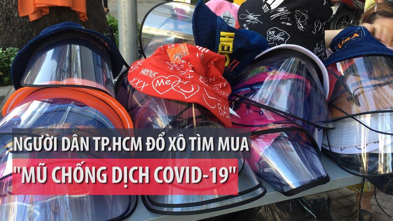 Người dân TP.HCM đổ xô tìm mua 'mũ chống dịch COVID-19' – PLO