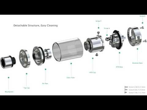Where to buy Eleaf  Lemo 3  Atomizer (with RTA base)