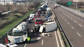 incidente in A1 a Piacenza