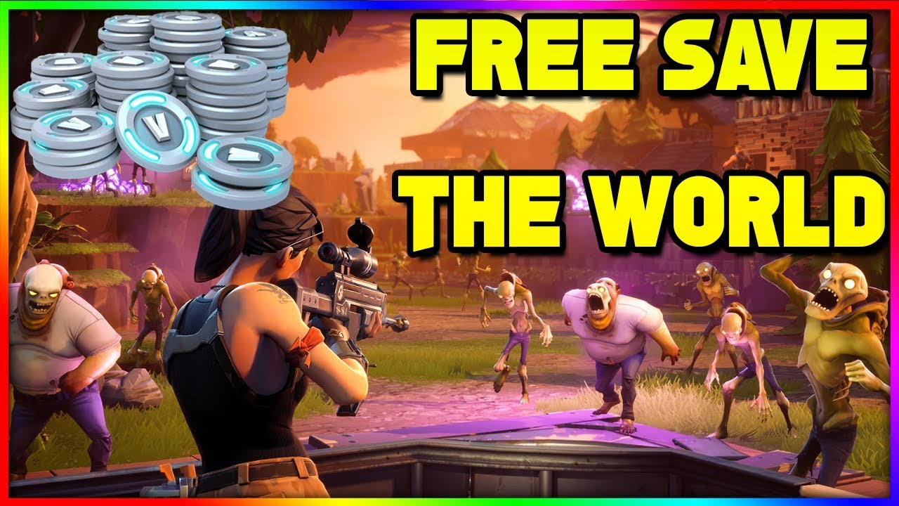 how to play save the world for free xbox one