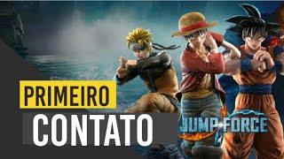 Jump Force PS4   Conferindo  A BETA   Goku,Vegeta E Mais Um Monte De Magia Diferenciada  #Jump  #DBZ