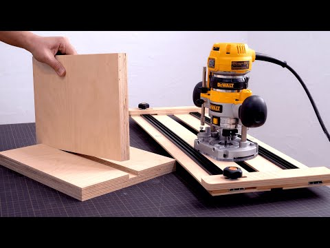 Make a Router Guide JIG