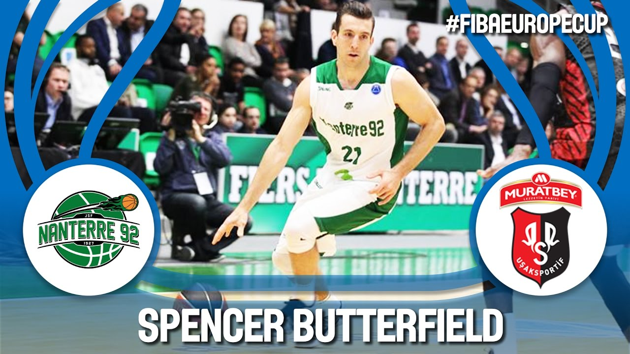 Spencer Butterfield lights it up for new FIBA Europe Cup three-point record