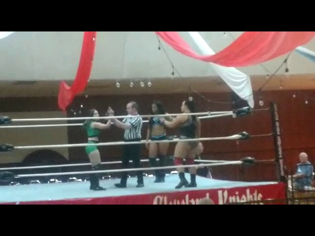 I know you missed it! A great Women match CKCW