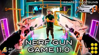 NERF GUN GAME 11.0 Nerf First Person Shooter!