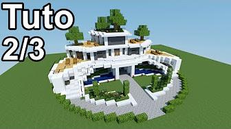 Minecraft tutoriel - Maison moderne ! 3/3 | aka VIDEOS