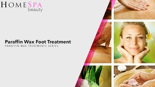 Paraffin Wax Foot Treatment