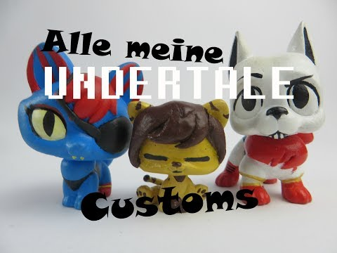 Lps: Alle meine UNDERTALE Customs