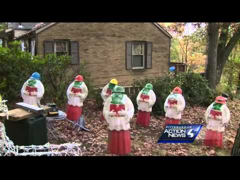Merry Christmas? Home once known for holiday lights now shows vulgar display