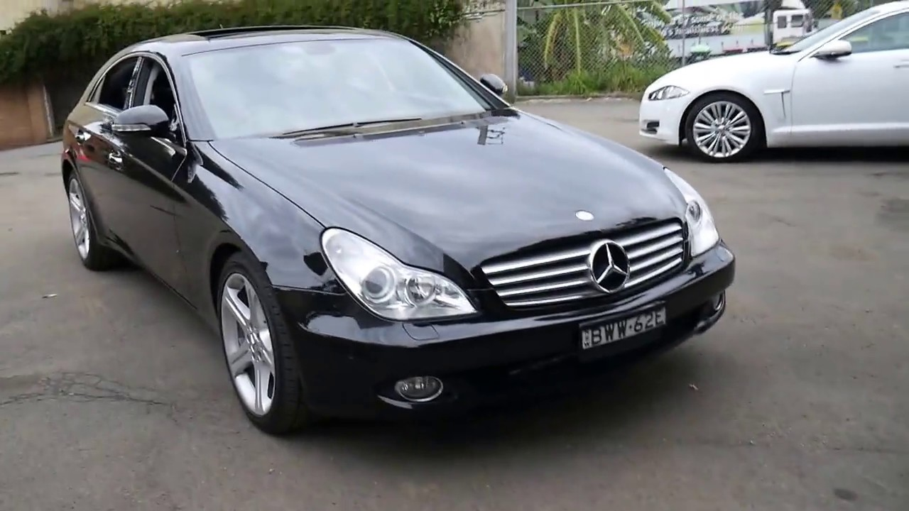 6f8d8a1ae094e0 2007 Mercedes Benz CLS350 in Black in lovely condition - YouTube