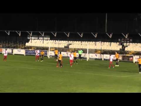 KENT SENIOR CUP | Cray Wanderers 1 Charlton 4
